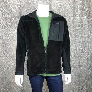 Patagonia Black Fleece Zip Up Jacket L
